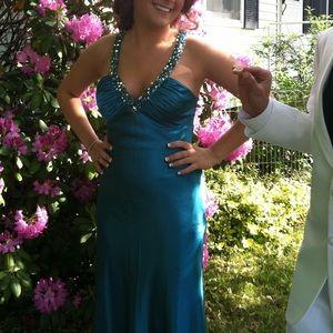 Beautiful Teal Blue Prom Dress💙